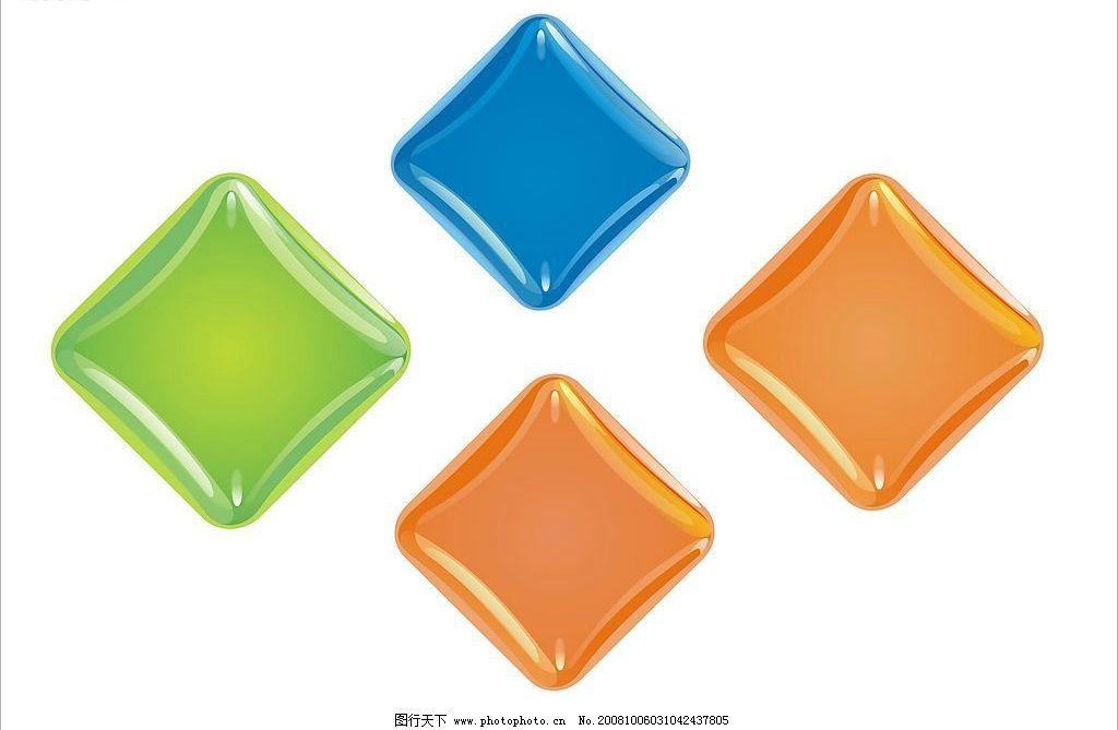 透明方块 矢量 精美 广告设计 其他设计 矢量图库 cdr12