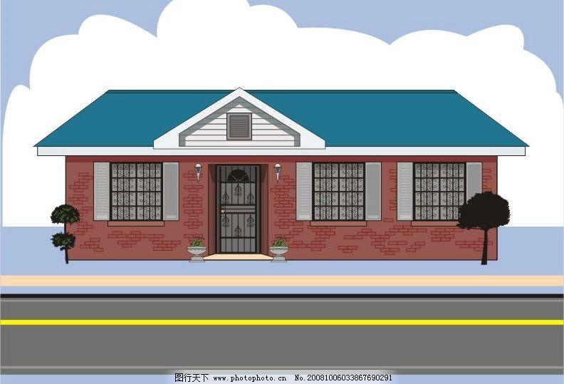 商务类房子图片素材