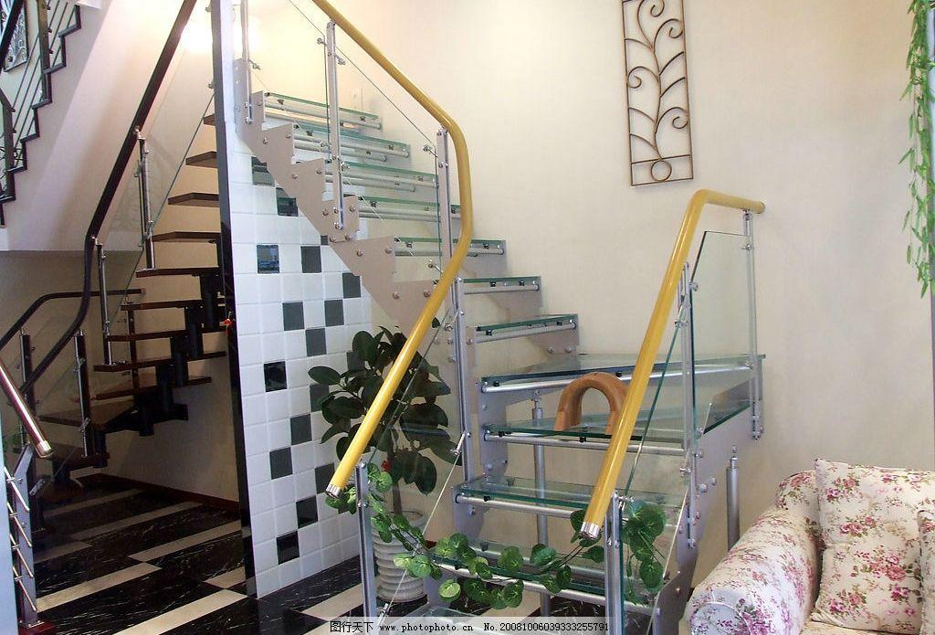 楼梯 扶手 家居 台阶 建筑园林 室内摄影 摄影图库