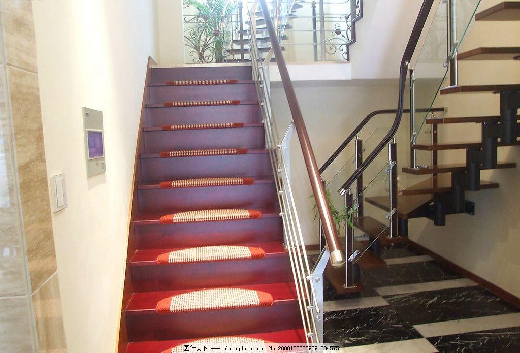 楼梯 扶手 家居 台阶 建筑园林 室内摄影 摄影图库 72dpi jpg