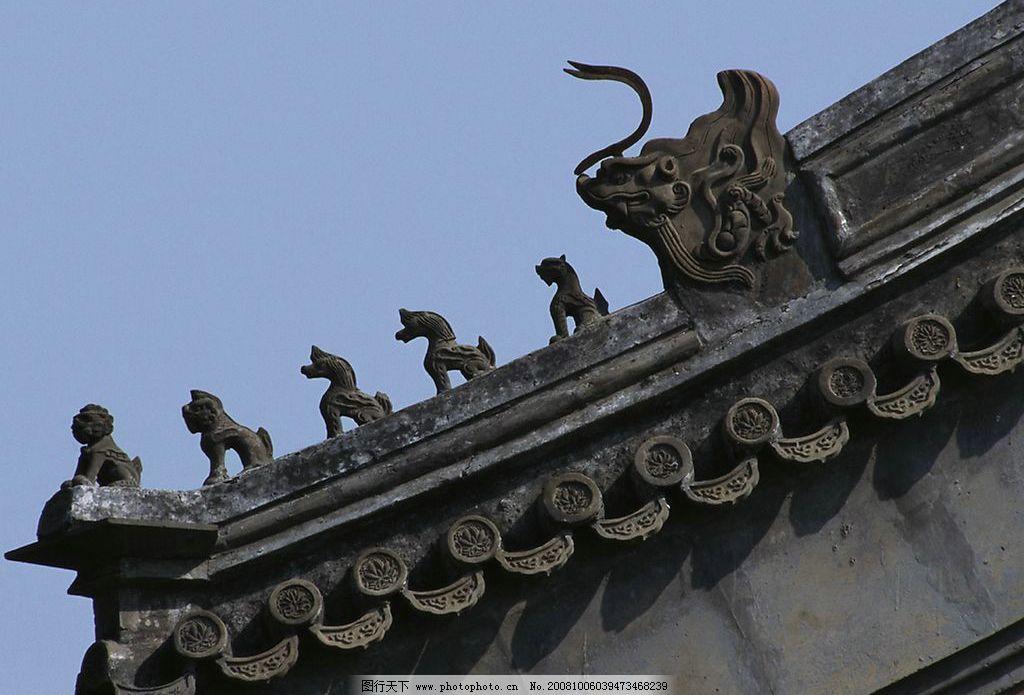 传统建筑 建筑 中国传统 屋顶 雕塑 建筑一角 建筑园林 建筑摄影 摄影