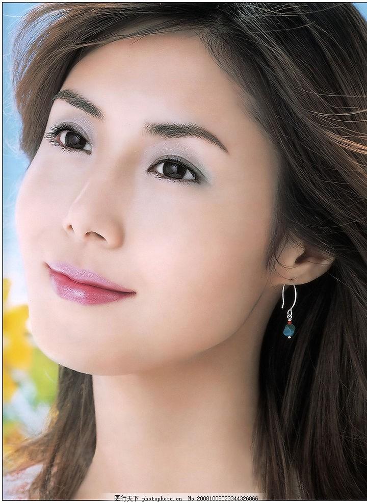 清纯美女      彩妆 漂亮 清新自然 可爱 人物图库 明星偶像 美女头像