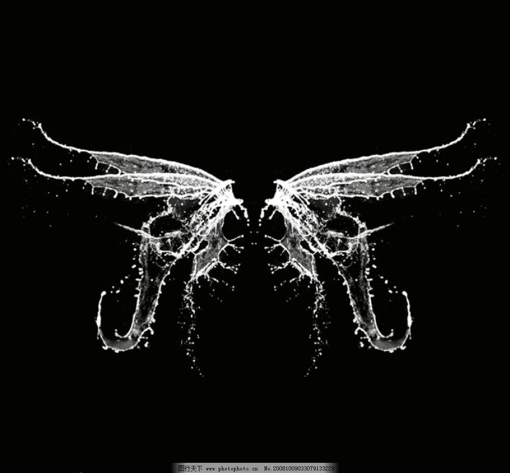又一张水 水 清楚 ps分层 高像素 素材 高清水素材 水翅膀 喷 流动的