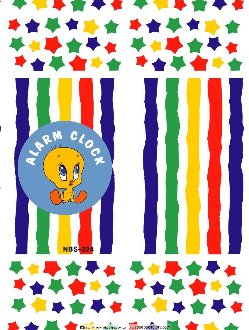 鸭子 星星 矢量 卡通 迪斯尼 可爱 ai 生物世界 其他生物 卡通动物