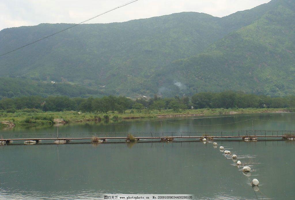 山水之美 有山 有水 船 自然景观 山水风景 摄影图库 72dpi jpg