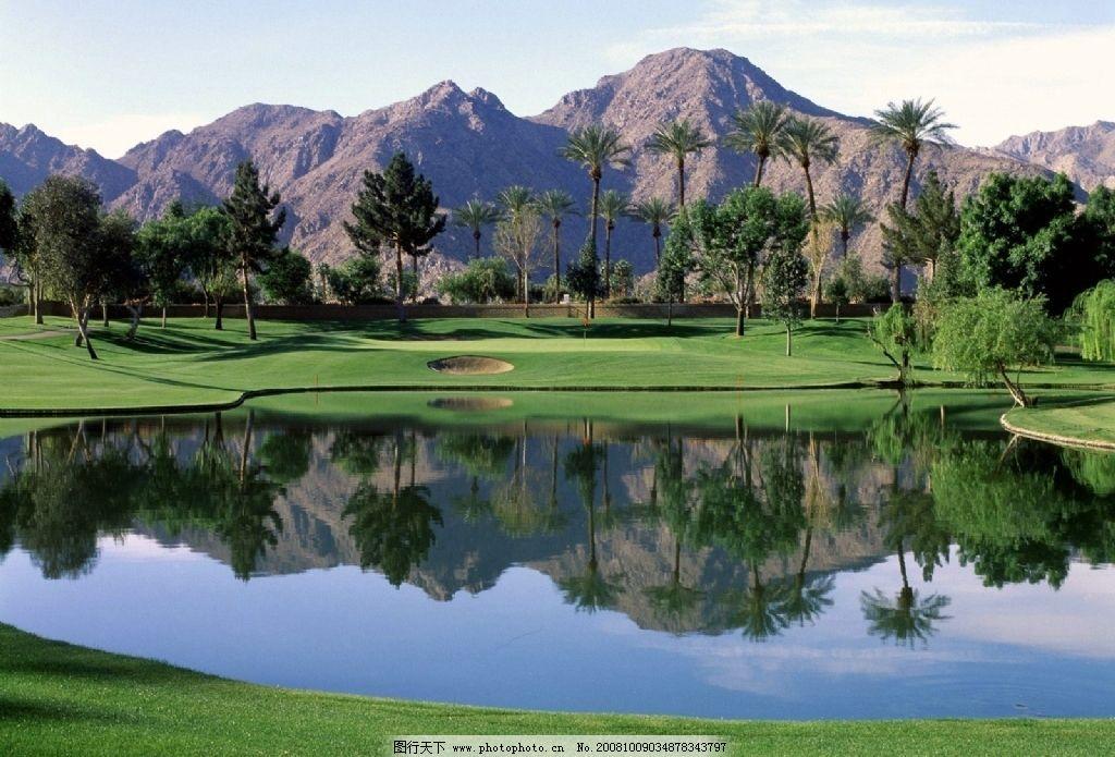 自然山水 山 水 绿 草 树 自然景观 自然风景 摄影图库 72dpi jpg