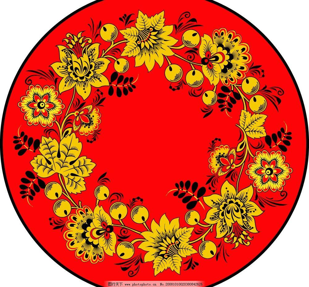 黄金色彩西方花纹纹理素材图片 底纹边框 花纹花边 矢量图库 ai