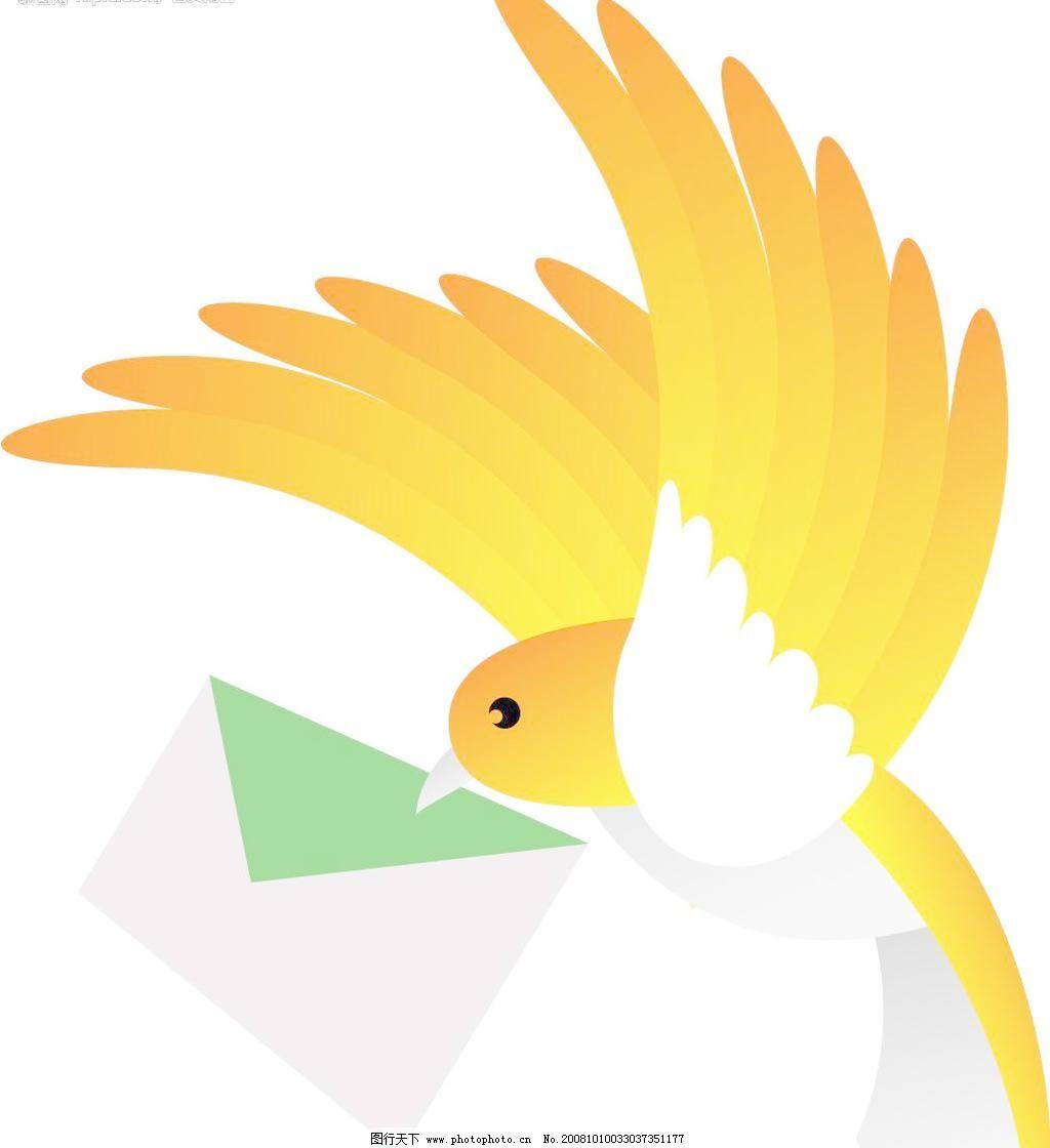 和平鸽 鸟类 生物世界 矢量图库 信鸽 鸽子矢量素材 鸽子模板下载