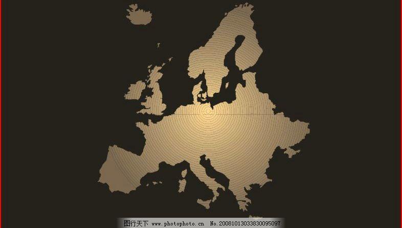 精致欧洲简明板块 木纹 其他矢量 矢量素材 矢量图库