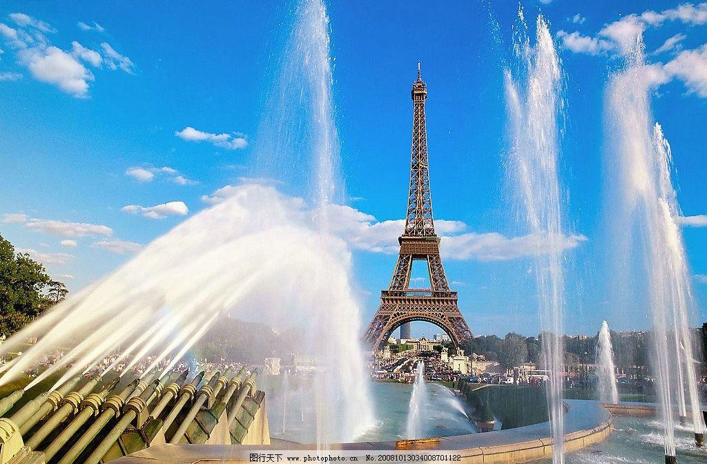 迷人的法国风景 埃菲尔铁塔