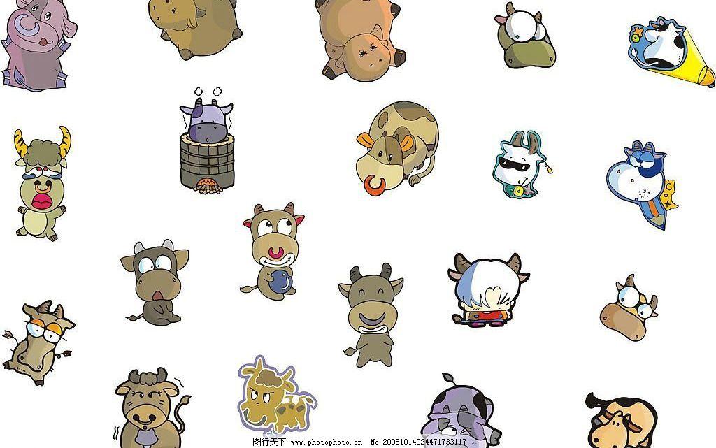 十二生肖之牛牛图片_野生动物