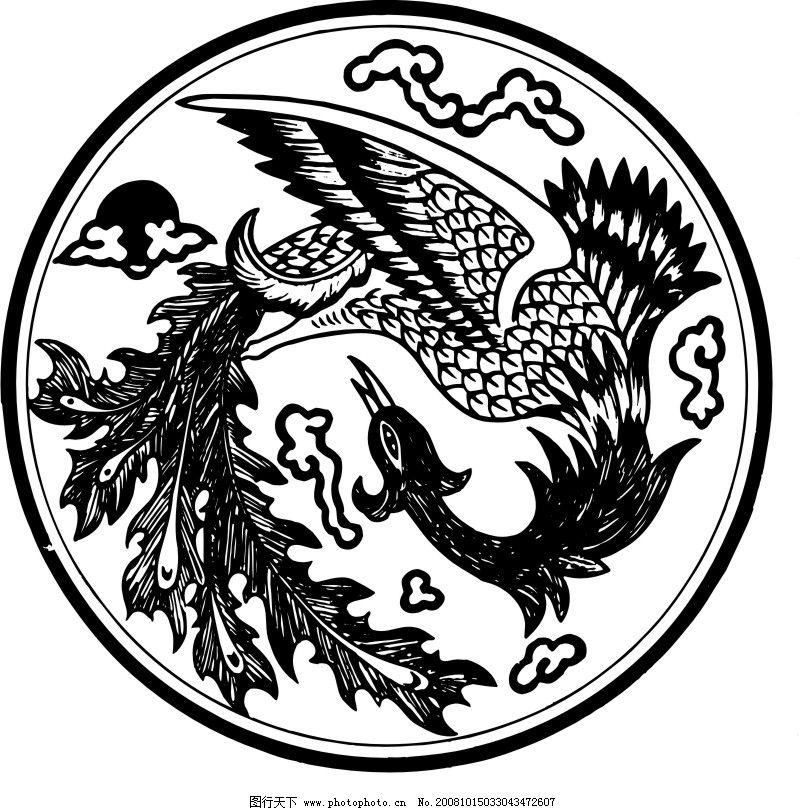 中国古典画 古典矢量花纹