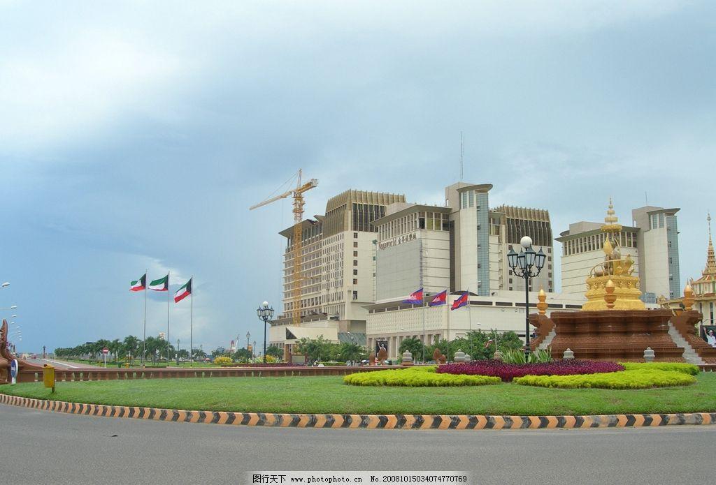 柬埔寨旅游风景高清摄影图片