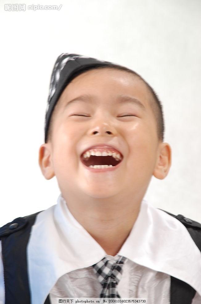 儿童写真 快乐 童年 大笑 小朋友 造型 特写 绅士 专题 表情