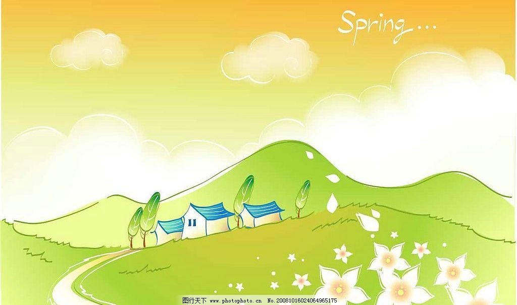 春天风景图片_自然风光