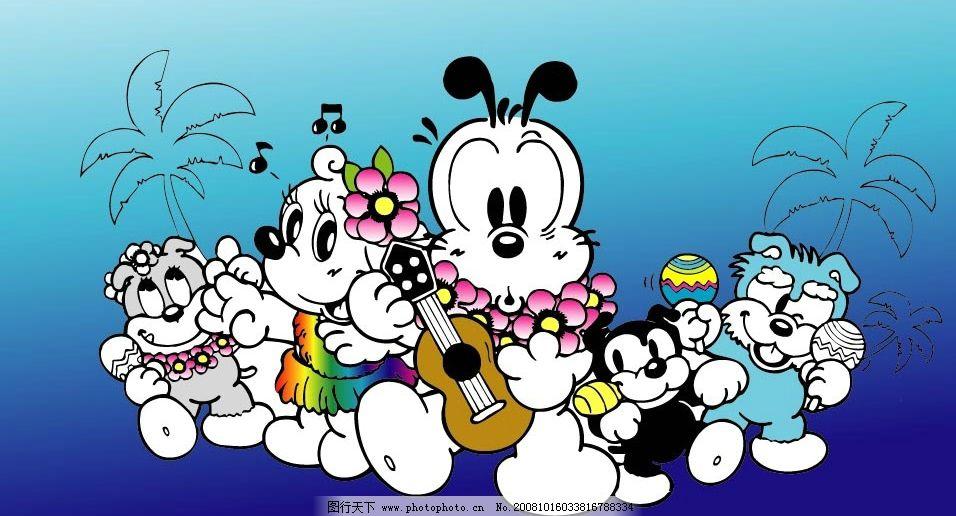 矢量巴布豆卡通系列3 巴布豆 品牌童装 卡通 可爱 矢量 卡通狗 卡通猫