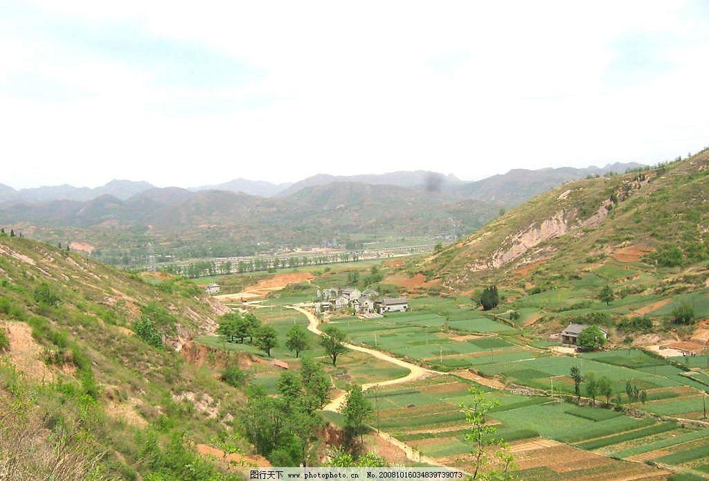 大山里的美景图片_自然风景_自然景观_图行天下图库