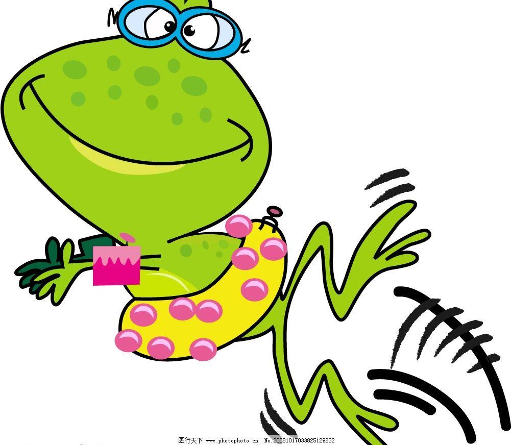 青蛙幼儿园范画
