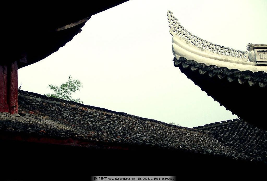 新昌古建筑 新昌 古建筑 屋檐 铃铛 古典 古代 大佛寺 中国风 庙 寺