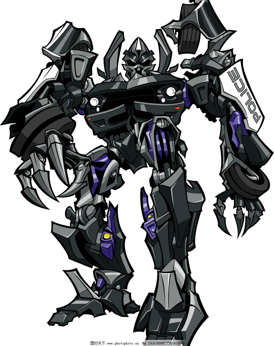 变形金刚3有哪些机器人.