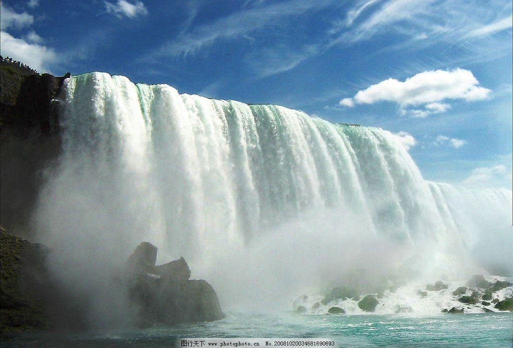 尼亚加拉大瀑布自然景观