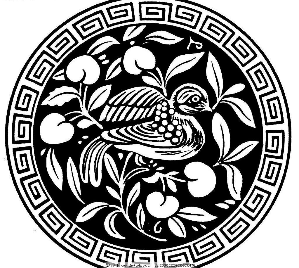 圆花纹 花纹 底纹边框 花边花纹 设计图库 1200dpi jpg