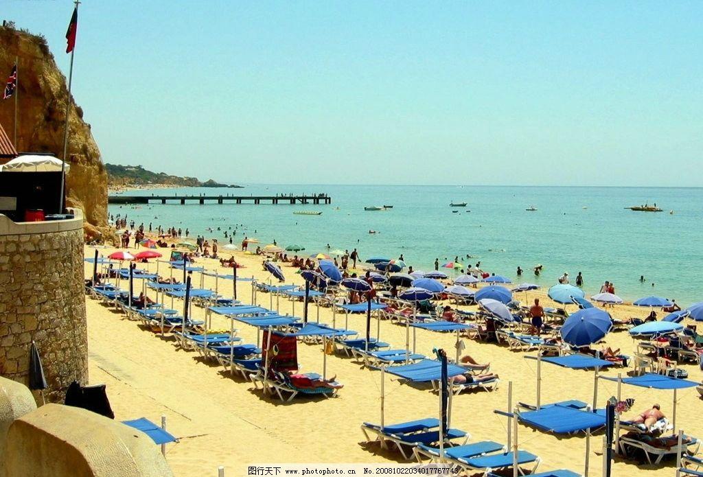 葡萄牙风光 葡萄牙海边风景图 旅游摄影 国外旅游 摄影图库 72dpi jpg