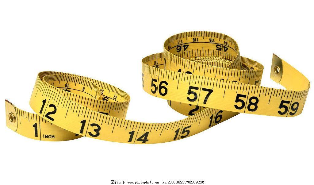 皮尺 黄色 瘦身 腰围 测量 生活素材 摄影图库