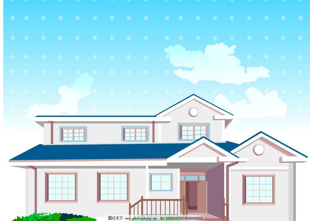 矢量建筑图片 建筑 房子 其他矢量 矢量素材 cdr素材 矢量图库 ai