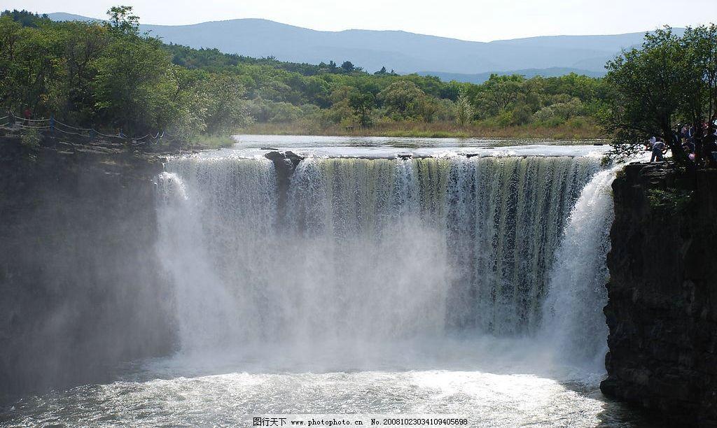吊水楼瀑布 吊水楼 瀑布 牡丹江 镜泊湖 旅游摄影 自然风景 摄影图库
