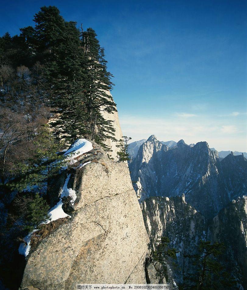 有雪的山川图片_自然风景_自然景观_图行天下图库