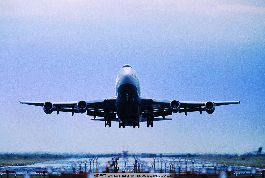 飞机起飞 飞机 起飞 天空