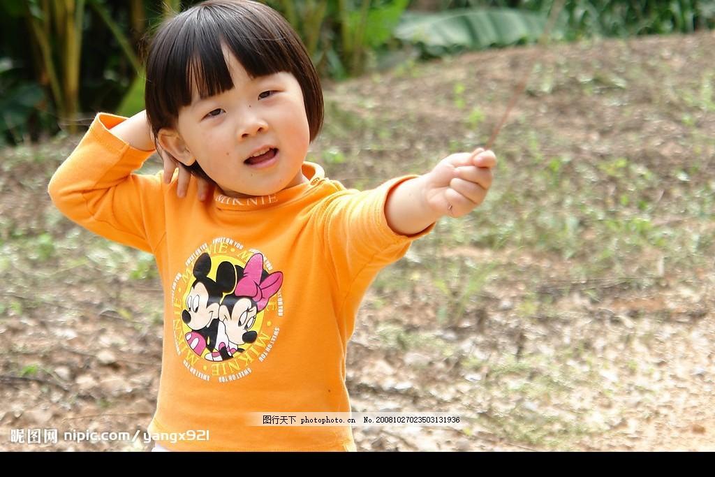 小女孩 可爱的小女孩 建筑园林 雕塑 雕像 公园 摄影图库 人