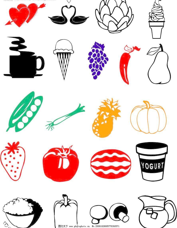 水果 水果图片免费下载 标识标志图标 矢量图库 水果矢量素材 小图标