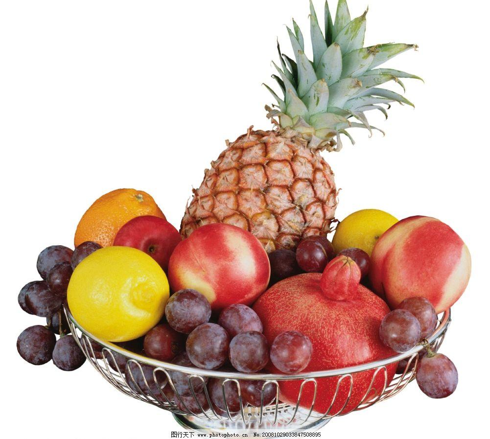 水果盘图片_其他图片素材_其他_图行天下图库
