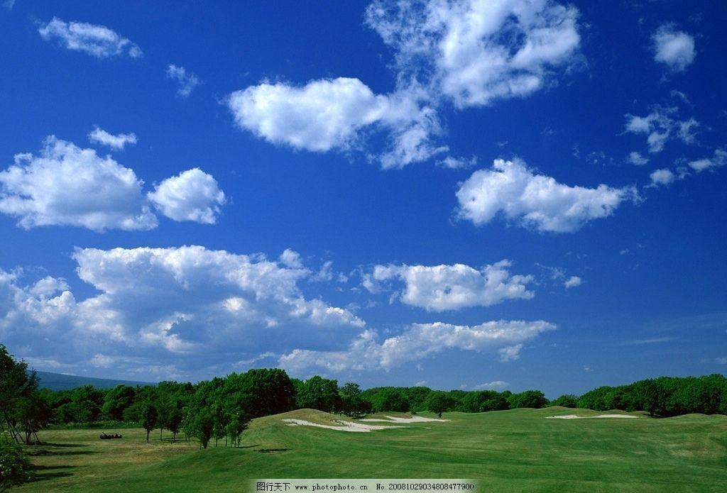 蓝天白云图片_自然风景_自然景观_图行天下图库