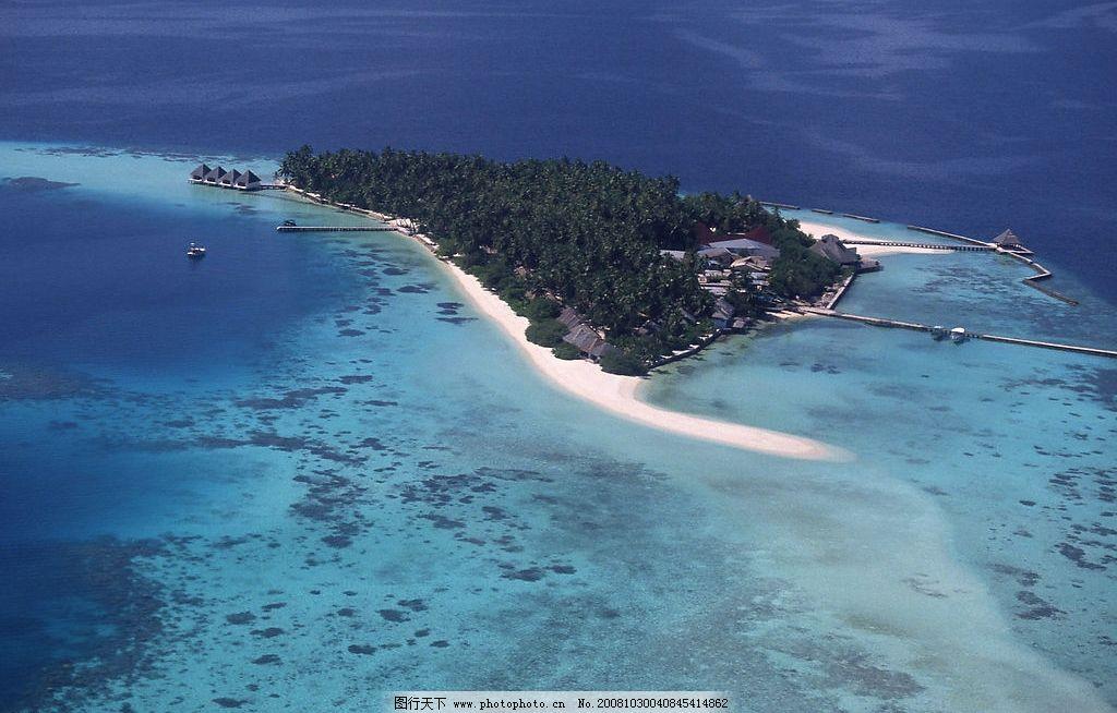 海岛风光 海中小岛 大海 图片素材 风景 摄影图库