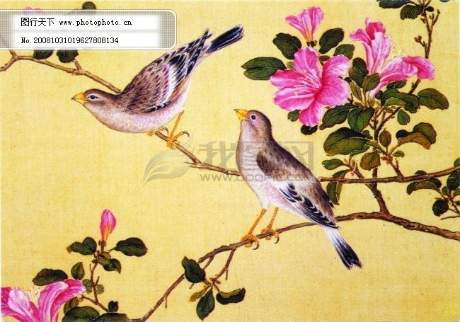 花鸟国画 中国民间艺术品 中华刺绣 梅花 喜鹊 民间艺术 山水画 古画
