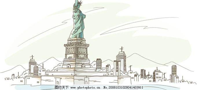 美国 自由女神像/美国自由女神像图片
