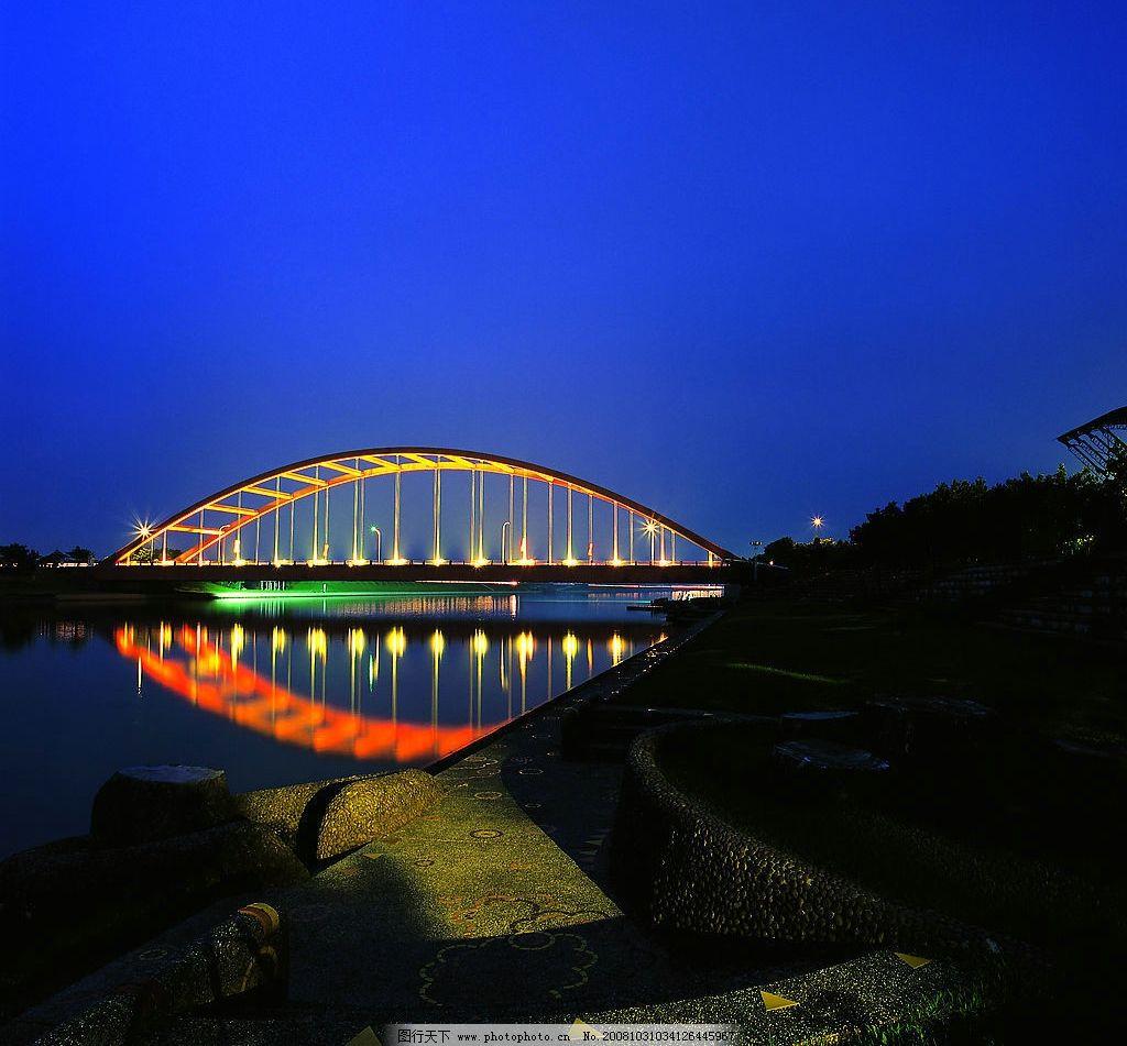 冬山河夜景图片_自然风景_旅游摄影_图行天下图库