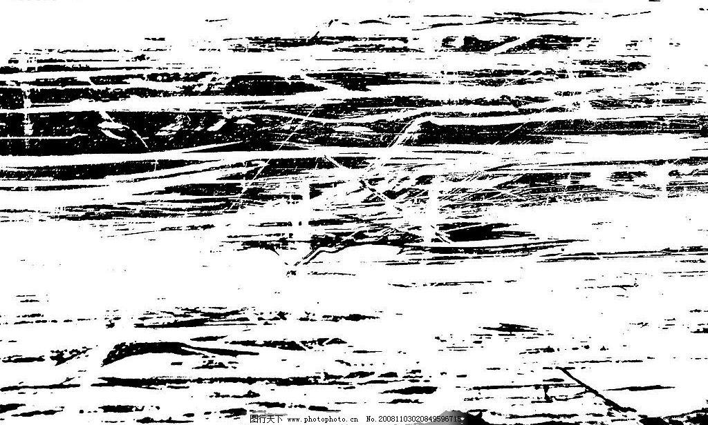 黑色划痕 横向 黑色 底纹边框 其他素材 设计图库 300dpi jpg