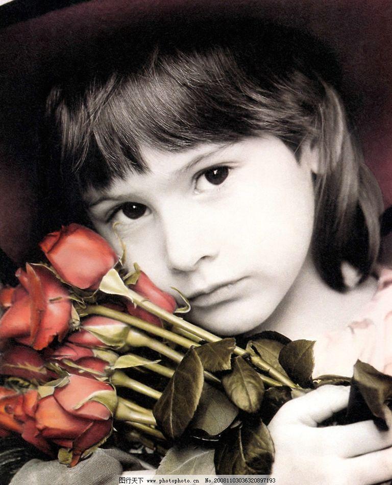 可爱的女孩 儿童 外国儿童 人物摄影 摄影图库