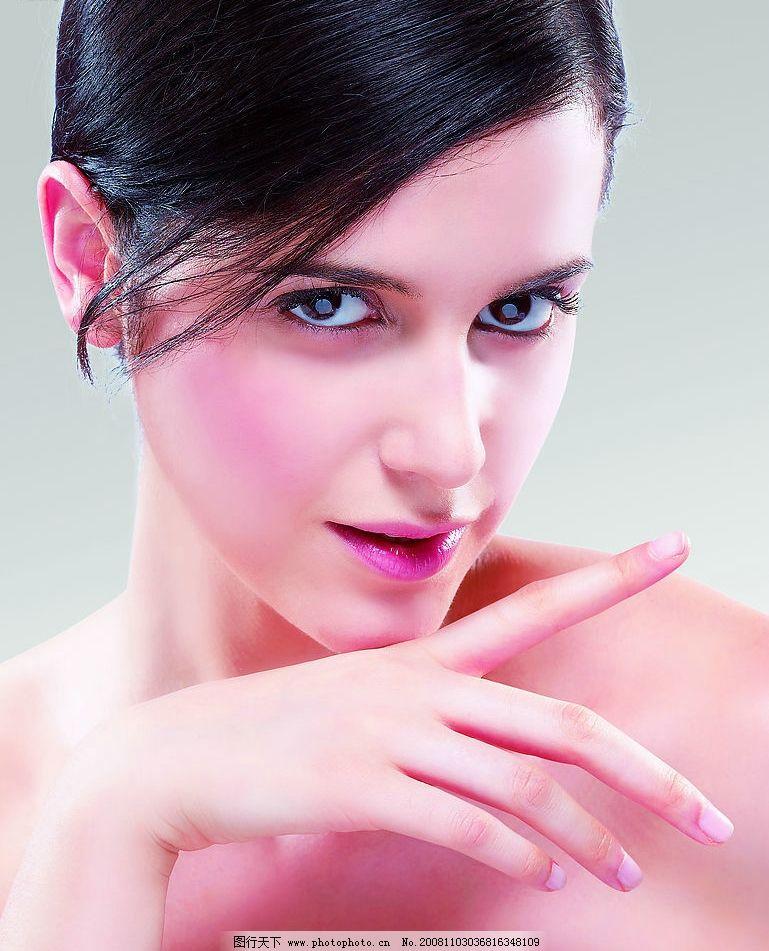 广告美女 美女 女人 化妆品广告 美容 人物图库 女性女人 摄影图库