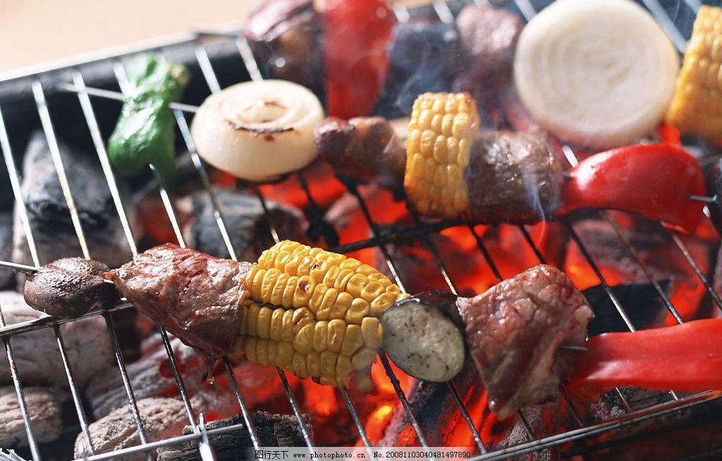 烧烤 食物 餐饮美食 食物原料 摄影图库 350dpi jpg