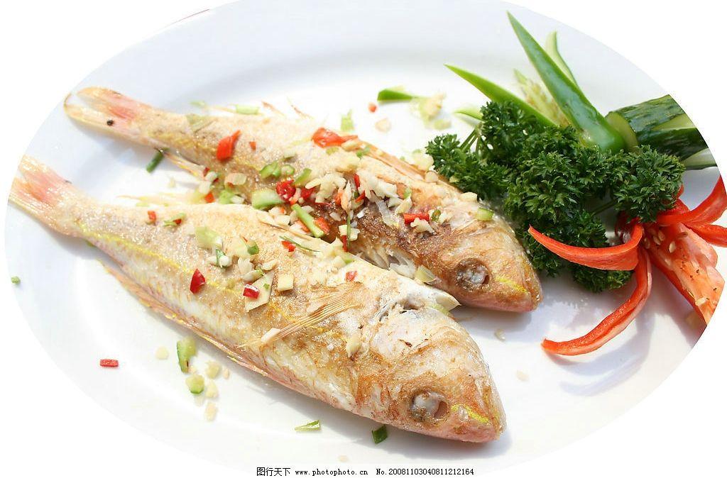 香煎红衫鱼 海鲜 美食 鱼类 图片素材 摄影图库