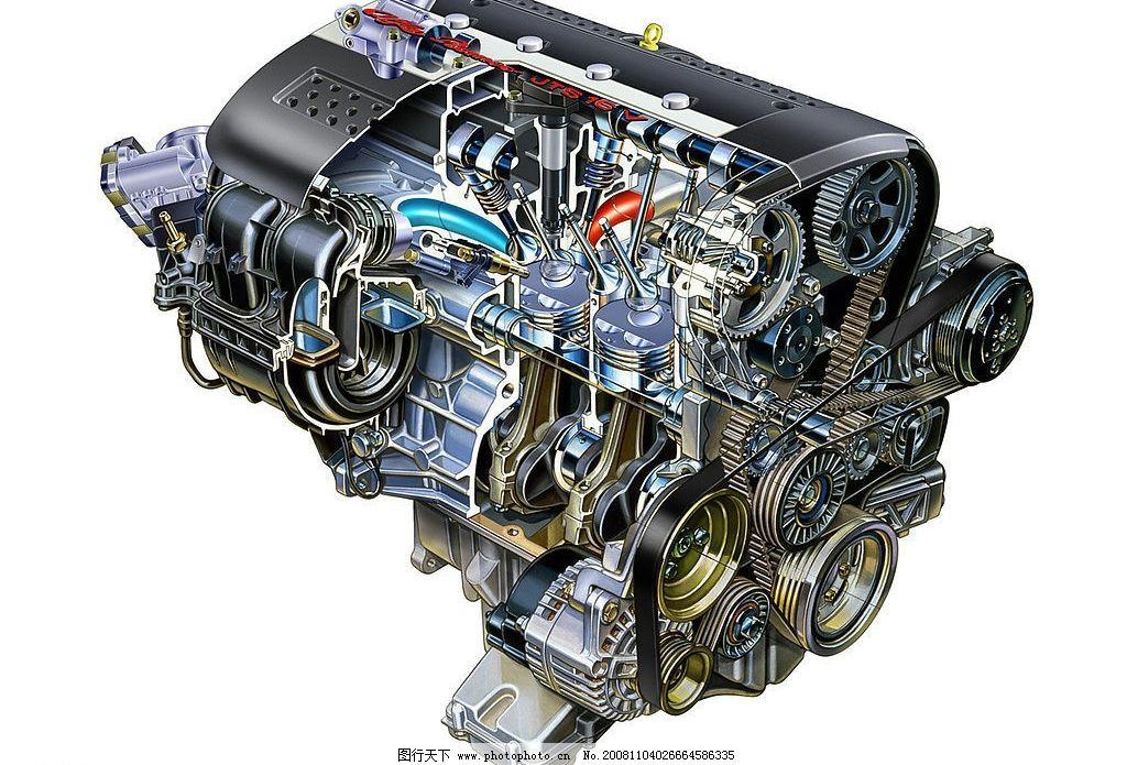 发动机 汽车发动机图片 清晰发动机 机器