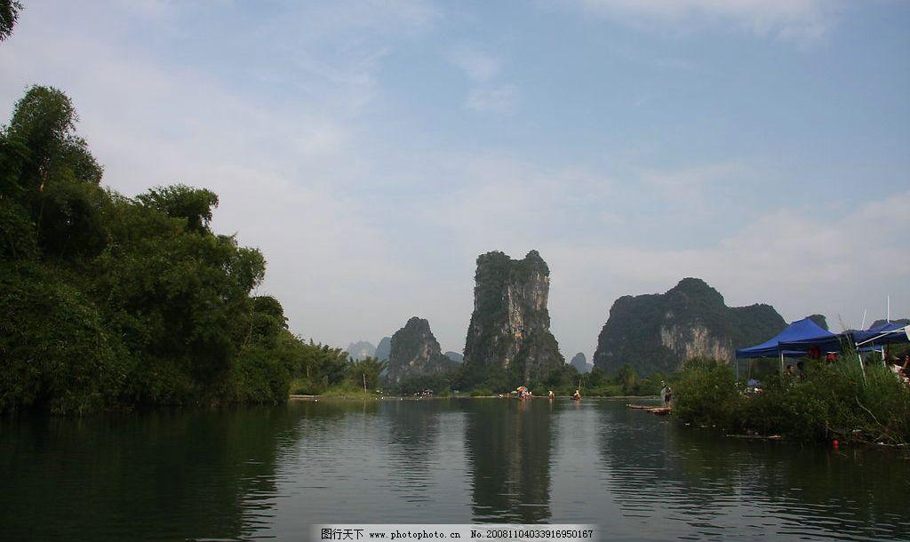 小河流水图片