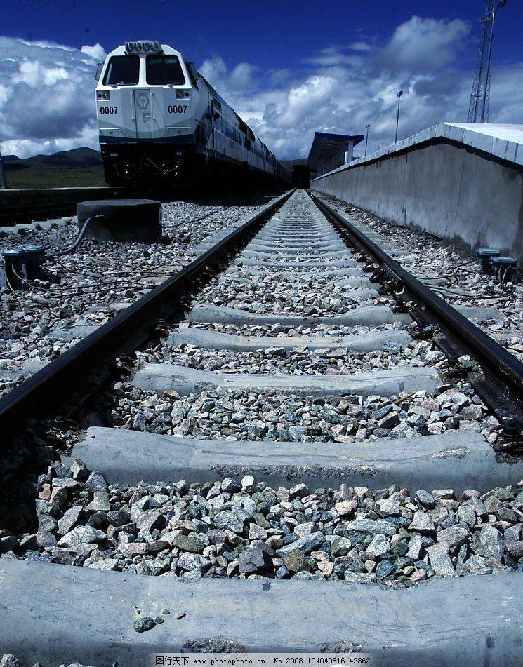 青藏铁路 交通 铁路 其他 图片素材 摄影图库 72dpi jpg