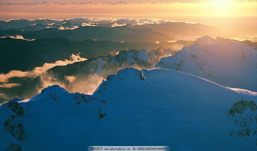 山水剪影 山 山恋 云彩 云雾 天空 日出 阳光 自然景观 山水风景 摄影