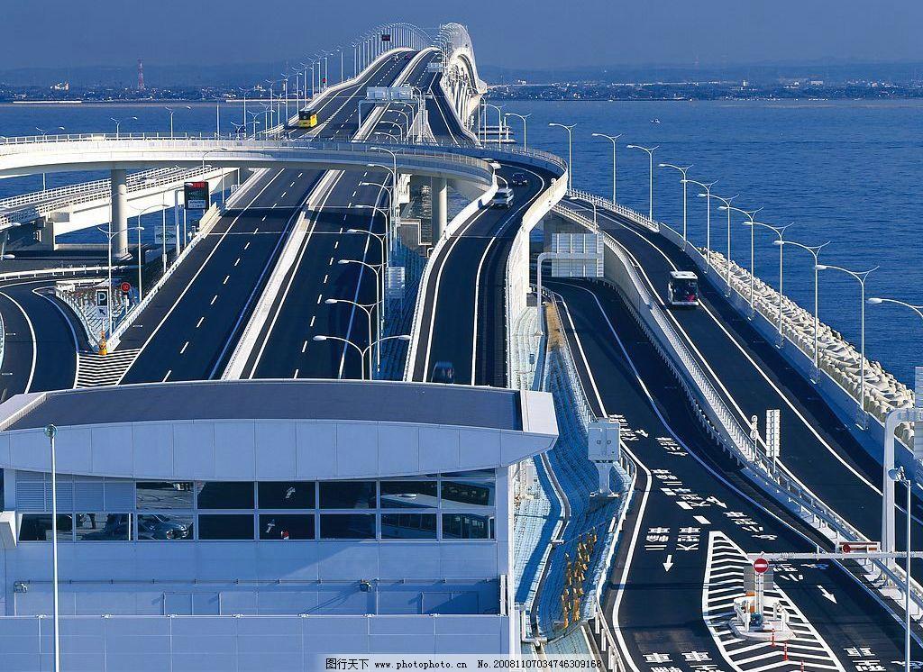 道路 跨海大桥图片